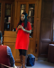 M. Shobhana Xavier speaks about pilgrimage from Bawa to Maryam - Lehigh University