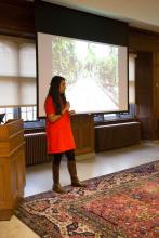 M. Shobhana Xavier presenting about Bawa and Maryam - Lehigh University