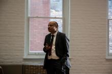 Dr. Mujibur Rehman speaking on Global Jihad - Lehigh University