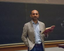 Mohsin Hamid leads a discussion about his works of literature and the themes of Globalism - Lehigh University