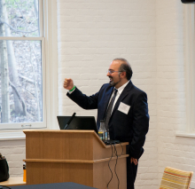 Dr. Omid Safi talks about Adab and Muslim refinement - Lehigh University