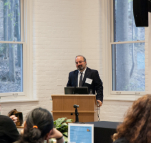 Dr. Omid Safi speaks to students and faculty of Lehigh University about Adab as a model for Muslim refinement