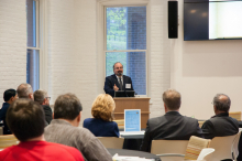 Dr. Omid Safi speaks to students and faculty of Lehigh University about Adab and its implications in Muslim refinement