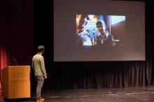 Zach Ingrasci discusses his film, Salam Neighbor - Lehigh University