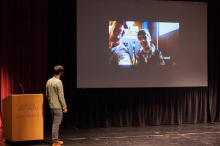 Zach Ingrasci discusses his film, Salam Neighbor - Lehigh University