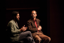 Zach Ingrasci and Bruce Whitehouse discuss the film Salam Neighbor - Lehigh University